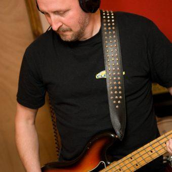 Richard in the studio.