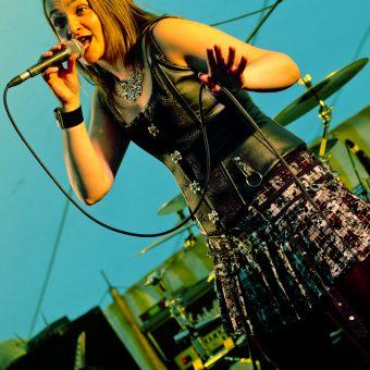 Ann singing.